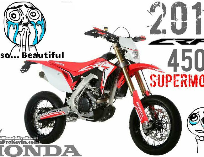 2017 Honda CRF450R SuperMoto Motard Bike / Motorcycle Review / Specs - For Sale & Street Legal CRF   CRF450R / CRF450X / CRF500R / CRF500X