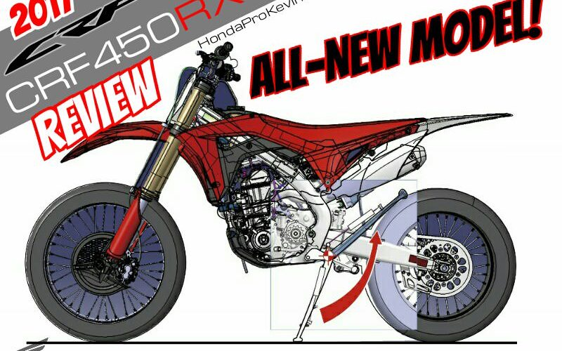 Detailed 2017 Honda Crf450rx Review Of Specs Videos Pictures