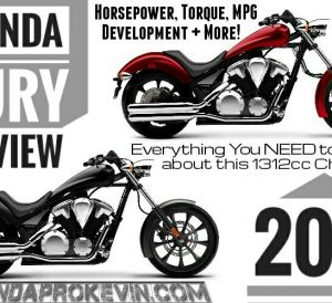 2017 Honda Fury Review / Specs - 1300 Motorcycle / Chopper Bike / Cruiser - Horsepower, Torque, MPG, Price / MSRP + More!