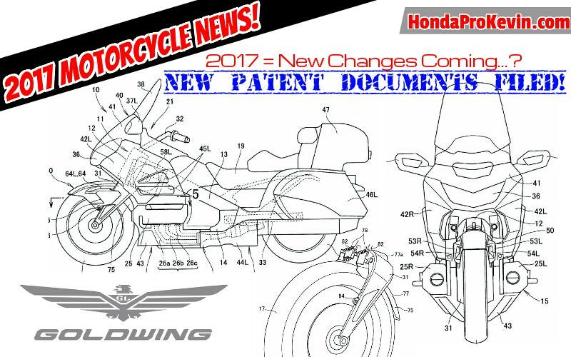 2018 honda goldwing motorcycle.  2018 2017 honda gold wing review of specs  changes on patent documents   motorcycle news on 2018 honda goldwing motorcycle t