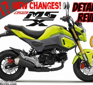 2017 Honda MSX125 ABS Review of Specs + NEW Changes (MSX125SF) | Mini Sport Bike / StreetFighter Motorcycle MSX 125