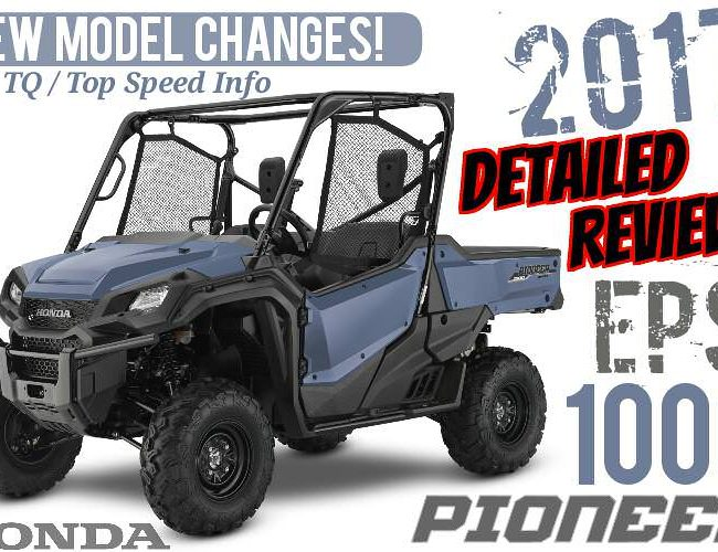 2017 Honda Pioneer 1000 EPS Review of Specs + NEW Changes! UTV / Side by Side ATV / Utility Vehicle SxS 1000cc | SXS10M3P / SXS10M3PH