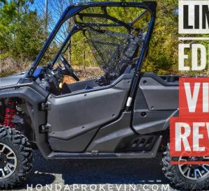 2017 Honda Pioneer 1000 LE Video Review of Specs & Changes   1000cc Side by Side ATV, UTV, SXS Reviews