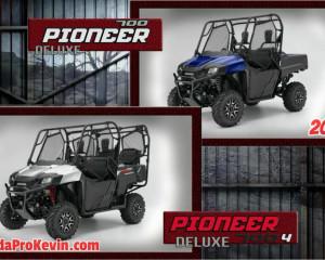 New 2017 Honda Side by Side Models - Pioneer 1000, 700, 500 Changes