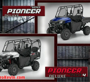New 2017 Honda Side by Side Models - Pioneer 1000, 700, 500 Changes