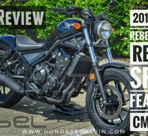 2017 Honda Rebel 500 ABS Review / Specs - Price, Colors, MPG + More! New Honda Cruiser / Bobber Motorcycle - CMX500