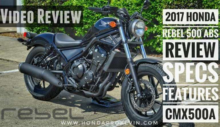 2017 Honda Rebel 500 ABS Review / Specs - Price, Colors, MPG + More! New Honda Cruiser / Bobber Motorcycle - CMX500
