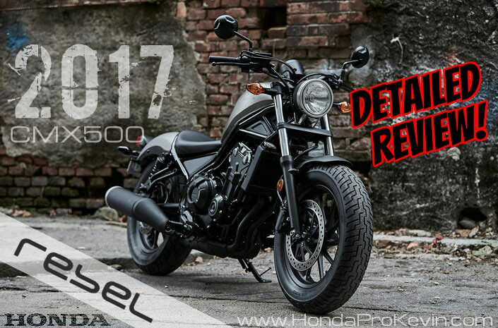detailed 2017 honda rebel 500 review of specs changes new rh hondaprokevin com