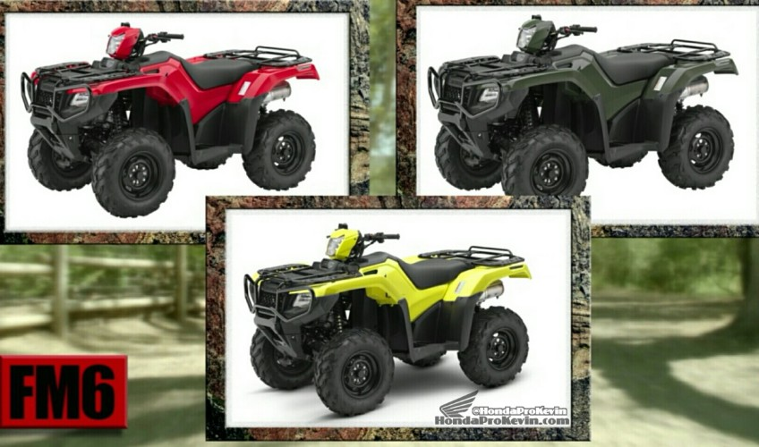 2017 Honda ATV Model Lineup Prices 2017 VS 2016 Comparison Review