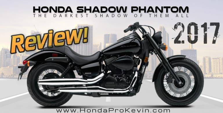 2017 Honda Shadow Phantom 750 Review of Specs / Features | Blacked ...