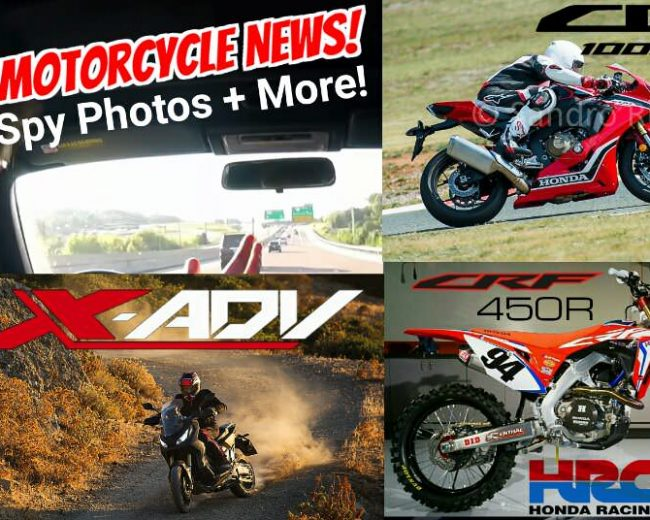 2017 Motorcycle News / Video Review | 2017 CBR1000RR Release Date / Spy Photos & Specs, X-ADV SGT Scooter, Roczen CRF450R Race Bike / Honda Racing Corporation (HRC)