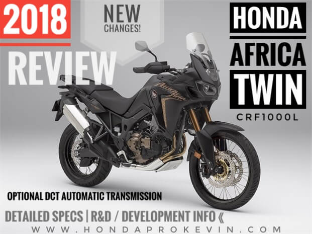 2018 Honda Africa Twin CRF1000L Review of Specs + New Changes to the 1000cc  Adventure Bike