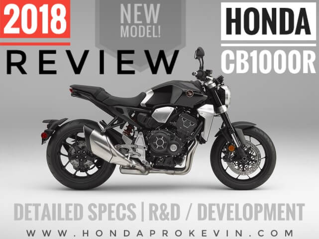 2018 Honda CB1000R Review Specs Horsepower Price Release Date More
