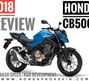 2018 Honda CB500F Review / Specs + Changes | Naked CBR Sport Bike / StreetFighter Motorcycle CB 500 F - Price, Colors, HP & TQ Performance Info + More!