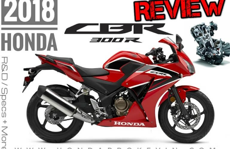 2018 Honda CBR300 Review of Specs / Changes | CBR 300 Sport Bike / Motorcycle