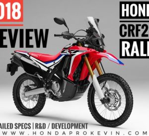 2018 Honda CRF250 Rally Review / Specs (CRF250L) - Adventure Motorcycle: Price, Colors, Changes, HP & TQ Performance Info, MPG + More! | CRF250LR