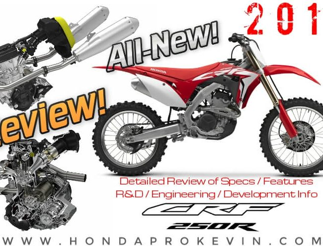 Detailed 2018 Honda CRF250R Review / Specs + NEW Changes! Price, Release Date, HP & TQ Engine Performance, Suspension, Frame + More! | CRF 250R Dirt / Race Bike (CRF250RJ)