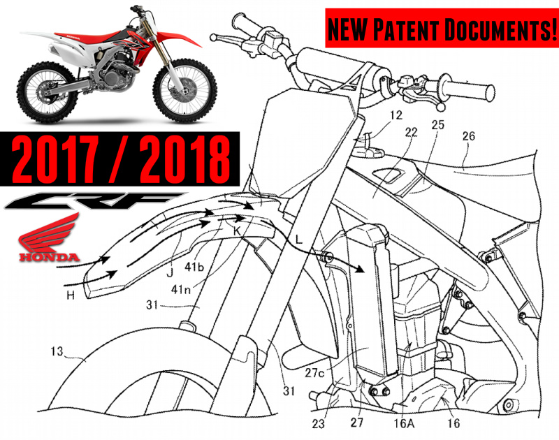 2018 honda 250r. delighful 2018 new 2017  2018 honda crf450r  crf250r patents filed  crf dirt bike  motorcycle news hondapro kevin for honda 250r