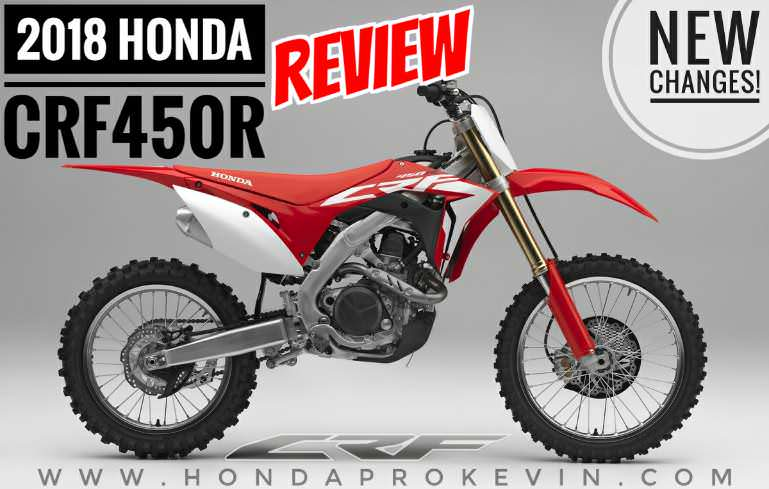 2018 Honda CRF450R Review / Specs + NEW Changes! | CRF