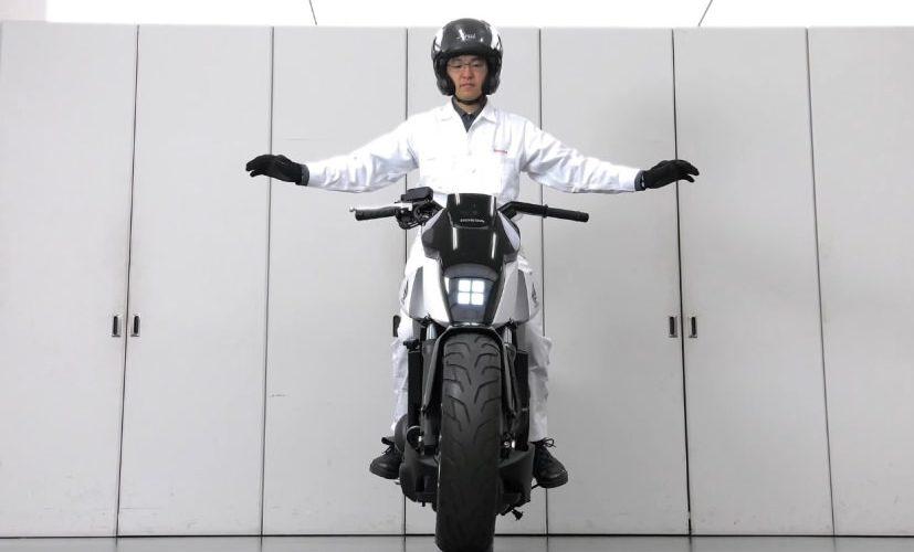 2018 Honda Motorcycles Of The Future No Kickstand Self