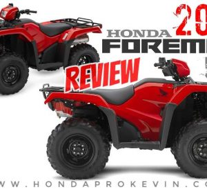 2018 Honda Foreman 500 ATV Review / Specs & Changes - TRX500FM1 FourTrax