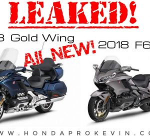 OFFICIAL | New 2018 Honda GoldWing & F6B Pictures Leaked! Changes & Specs Info Overview: MSRP / Price, Release Date, Colors, DCT Packages + More!