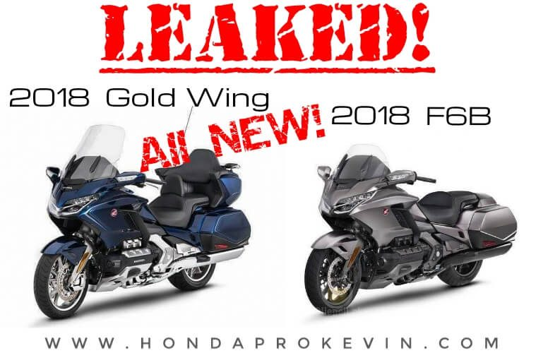 2018 honda goldwing f6b. contemporary 2018 official  new 2018 honda goldwing u0026 f6b pictures leaked changes specs  info overview intended honda goldwing f6b e