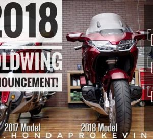 New 2018 Honda Gold Wing Tour Review of Specs / Changes: Price, Weight, Colors, Packages, DCT 7-Speed Automatic + Manual 67-Speed Transmission