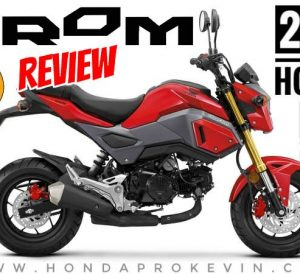 2018 Honda Grom Review / Specs + NEW Changes (ABS) | Price, Colors, MPG, Horsepower & Torque Performance Mods + More! 2018 Honda 125 cc Mini Sport Bike / Motorcycle (GROM125J)