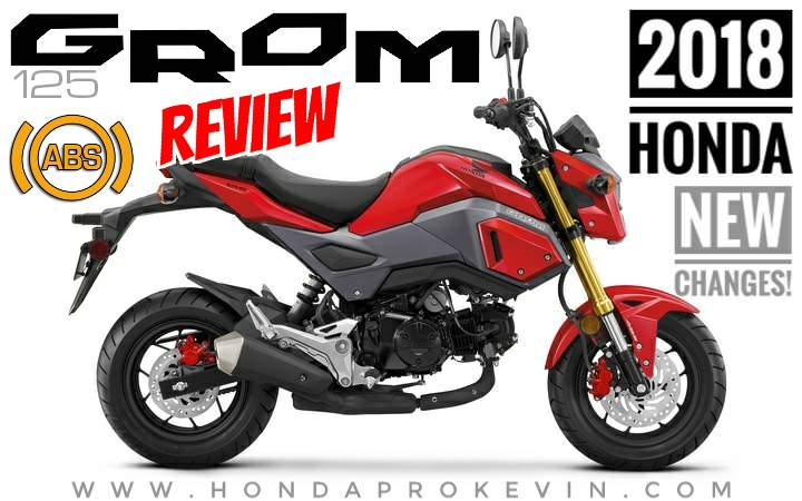 2018 Honda Grom Review / Specs + NEW Changes to the 125 cc