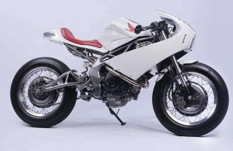 Custom Honda Cafe Racer Motorcycle / CBR Sport Bike - CBR250RR