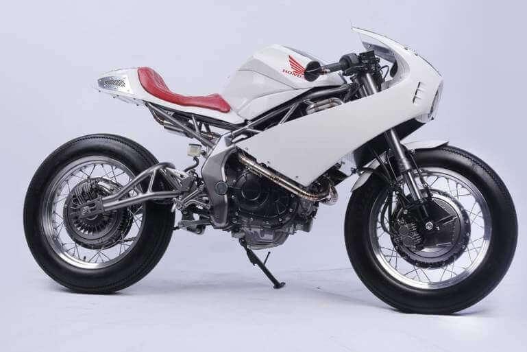 Custom Honda CBR Cafe Racer Sport Bike