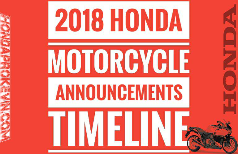 2018 honda motorcycle models. contemporary models sneak peek  new 2018 honda motorcycle announcements  model release dates  hondapro kevin on honda motorcycle models l