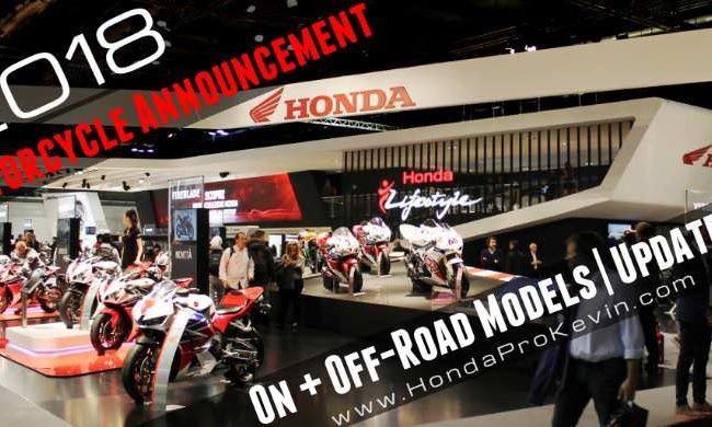 New 2018 Honda Motorcycles Announced! Model Lineup Review | 2018 Honda CBR Sport Bikes, Naked CB, Grom + 2018 Honda CRF Race Dirt Bikes