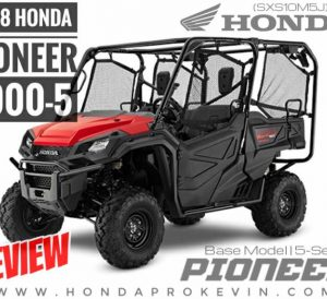 2018 Honda Pioneer 1000-5 Review / Specs & Changes (5-Seater)   Price, Colors, HP & TQ + More on Honda's 2018 1000cc Side by Side UTV / ATV / SxS Utility Vehicle