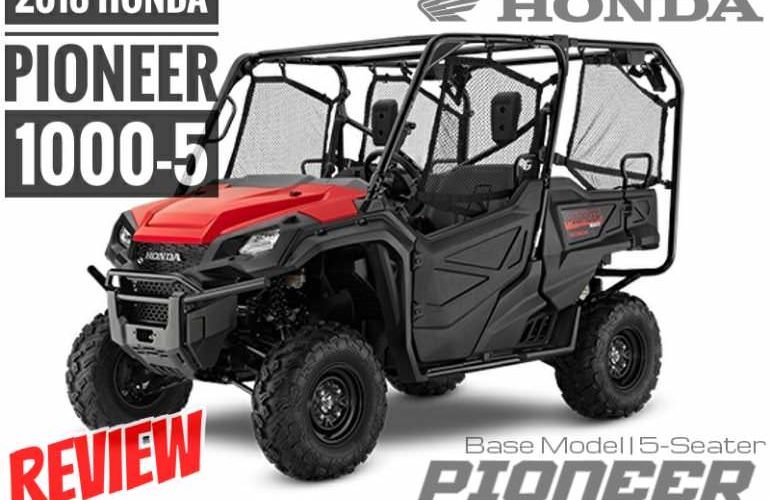 2018 Honda Pioneer 1000 5 Review Specs Changes Seater