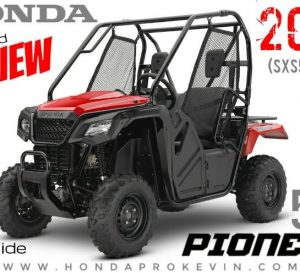 2018 Honda Pioneer 500 Review / Specs - Price, Accessories, Performance Info + More! | Side by Side ATV / UTV / SxS Utility Vehicle
