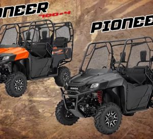 2018 Honda Pioneer 1000, 700, 500 Model Lineup Review / Specs & Changes!