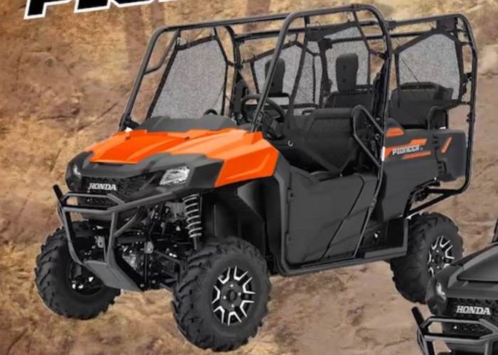 2018 Honda Pioneer 700-4 Deluxe Review - Specs Changes, Price, Colors, Horsepower & Torque
