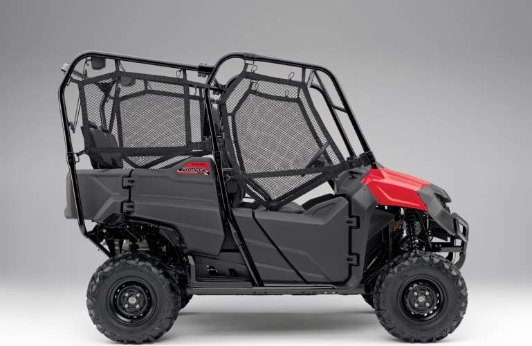 2018 honda pioneer 700 4 review of specs features accessories development more base. Black Bedroom Furniture Sets. Home Design Ideas
