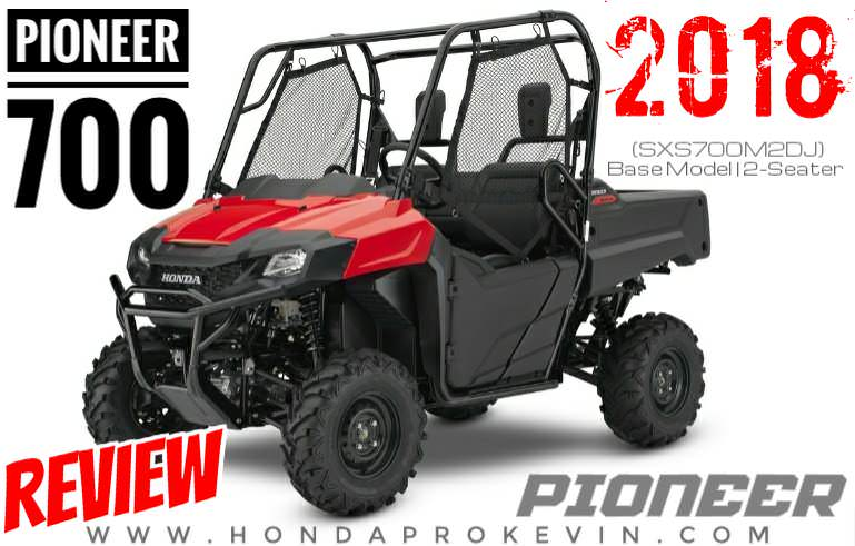 2018 Honda Pioneer 700 Review / Specs, Accessories, Price + More! | SXS700M2 Side by Side ATV / UTV / SxS
