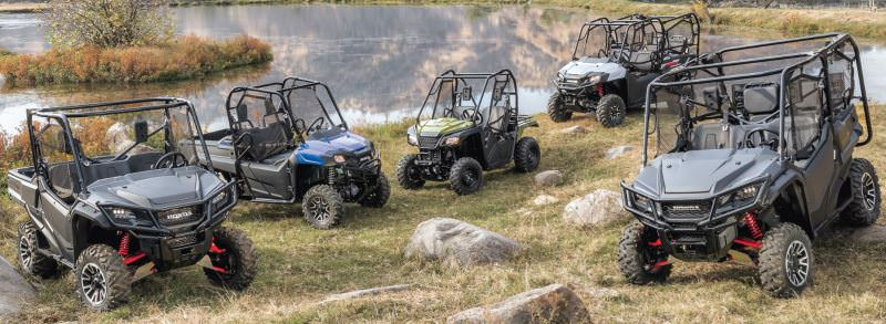 2018 Honda Pioneer Side by Side UTV / SxS Models | Lineup Reviews