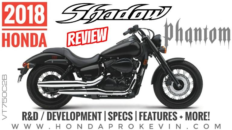 2018 Honda Shadow Phantom 750 Review of Specs / Features | Cruiser ...
