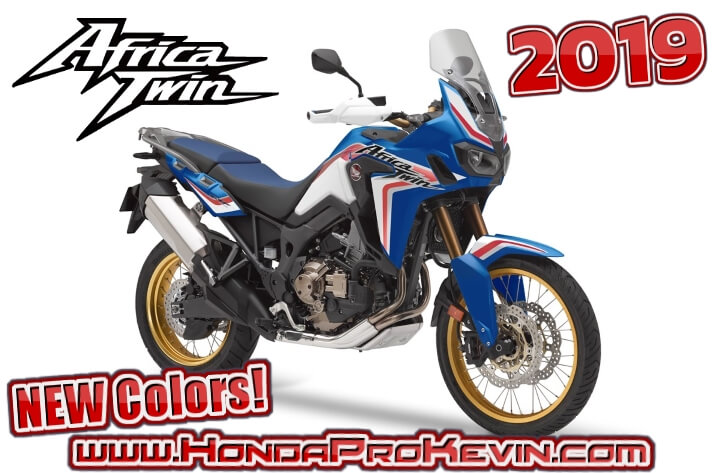 NEW 2019 Honda Africa Twin Price / Colors Released! (Adventure Sports included)