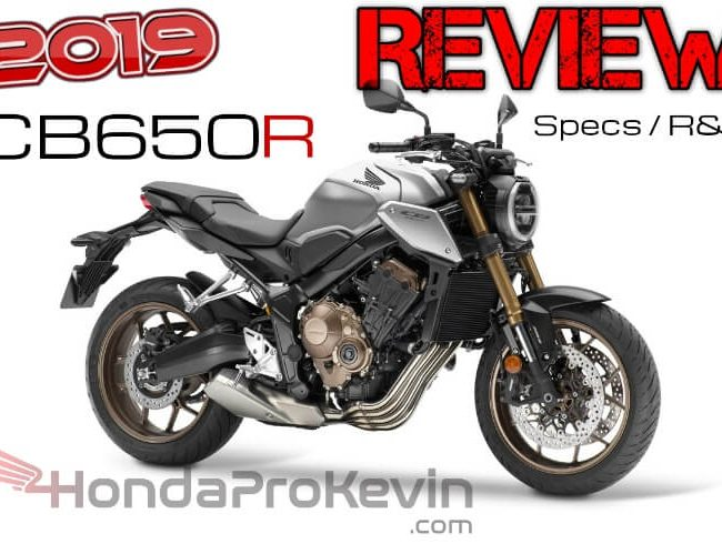 Detailed 2019 Honda CB650R Review / Buyer's Guide: Price, HP & TQ Performance Specs, Weight, Seat Height and more... | 2019 Naked CBR SportBike
