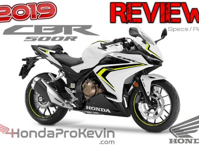 2019 Honda CBR500R Review / Specs Buyer's Guide: Price, Colors, HP & TQ Performance, MPG, Seat Height + More!