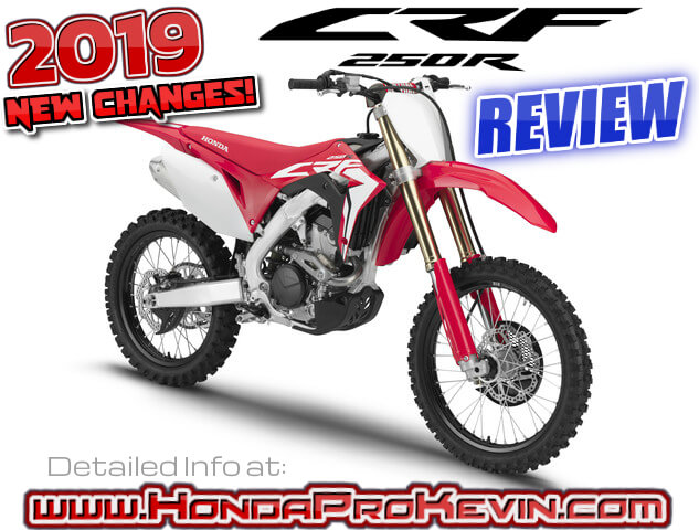 2019 Honda Crf250r Review Of Specs Rd New Changes Explained