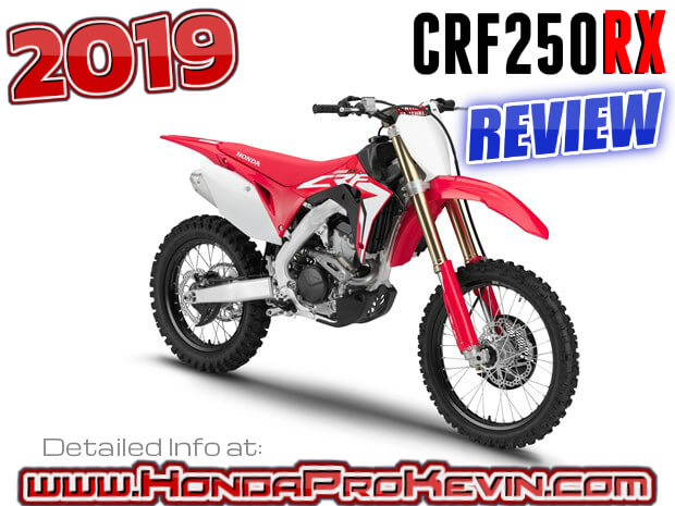 Crf250R For Sale >> 2019 Honda CRF250RX Review of Specs / Features + R&D Info | CRF250R for the woods!