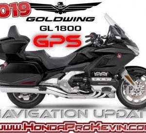 2019 - 2018 Honda Gold Wing Navigation / GPS Update Maps & Software | GL1800 Tour Motorcycle