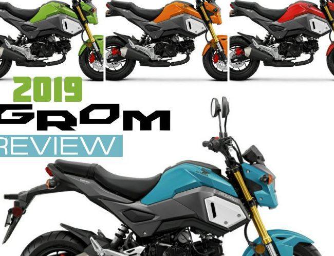 2019 Honda Grom 125 Review of Specs + NEW Changes! | Price, Colors, HP & TQ Performance Info | 2019 Honda MSX125 / MSX 125 / MSX125SF